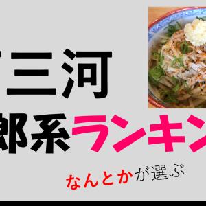 西三河の二郎系ラーメン店おすすめベスト4!1位は西尾の麺の樹ぼだい