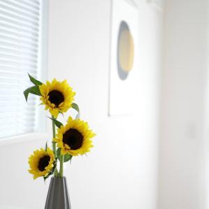 高見え!3COINSのフラワーベースで季節の花を飾る