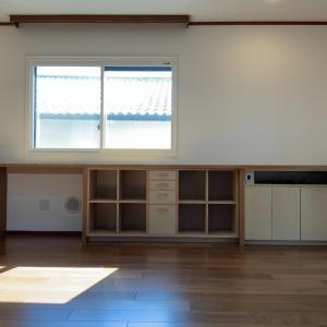 リビングの収納家具