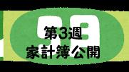#40 2021年5月第3週の家計簿公開