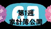 #48 2021年6月第1週の家計簿公開