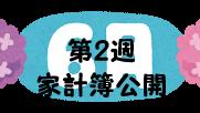 #50 2021年6月第2週の家計簿公開