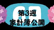 #51 2021年6月第3週の家計簿公開
