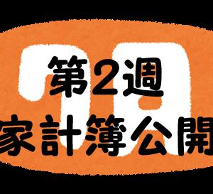 #58 2021年7月第2週の家計簿公開