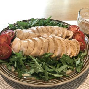 【ズボラで簡単】鶏むね肉の茹で鶏