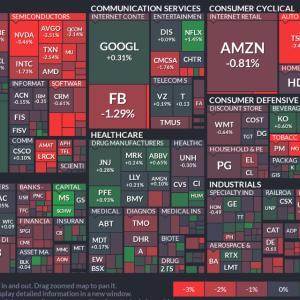 【米国市場】4/19は先週の反動で全指数反落。。テスラのニュース気になります。