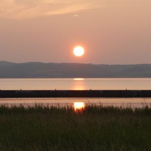 レイクサイドパーク・のとろキャンプ場【能取湖に沈む最高の夕日を見に行こう】