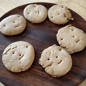 娘とクッキー作り