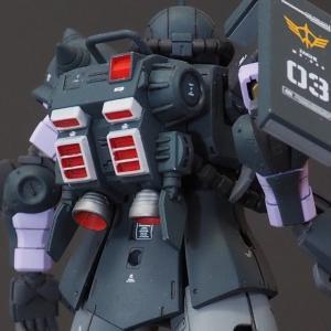 [WORKS03:高機動型ザクⅡ黒い三連星]バックショットの衝撃を再び。