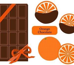 チョコレートとオレンジの組合せが好き
