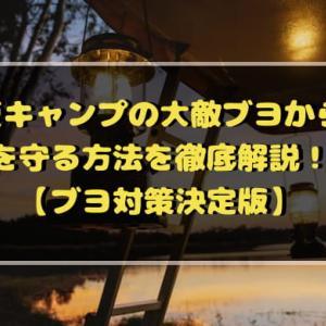 夏キャンプの大敵ブヨから身を守る方法を徹底解説!!【ブヨ対策決定版】
