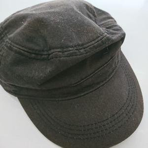 帽子の色あせ修正です。