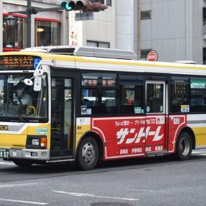 群馬中央バス 群馬200 か 807