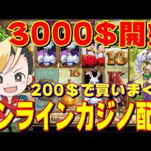 【オンラインカジノ】30万でWhiteRabbitボーナス購入!