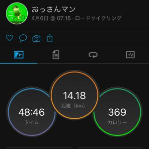 ジテツー 4/6(火) 2021年 53日目
