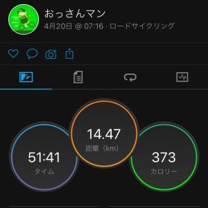 ジテツー 4/20(火) 2021年 57日目