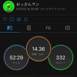 ジテツー 4/21(水) 2021年 58日目
