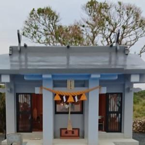 世之主神社の抜け穴