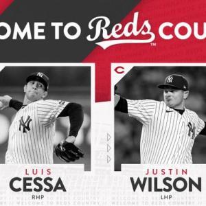 【MLB移籍情報】レッズがヤンキースから救援投手2名を獲得