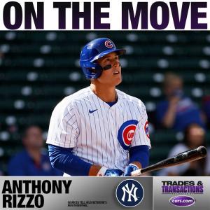 【MLB移籍情報】ヤンキースがカブスからアンソニー・リゾ獲得
