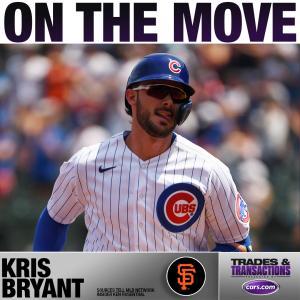 【MLB移籍情報】SFジャイアンツがブライアント(カブス)を獲得