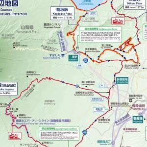 オリンピック自転車ロードレースのコース