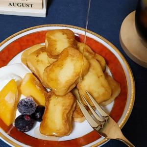 朝ごはんはフレンチトースト
