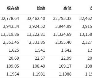 【ダウが強い】米国株式市場分析まとめ【20210313】