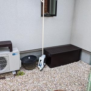 庭の物置(ロッカー)を更新