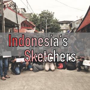 Indonesia's Sketchers/インドネシアズスケッチャーズ