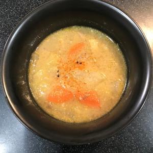 うま味とコクのゴマ味噌豚汁