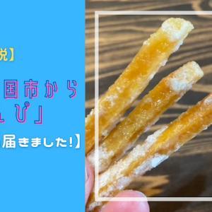 【ふるさと納税】高知県南国市から「芋けんぴ」2Kgとどきました!