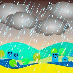 長野県に局地的な大雨で災害警戒情報が発令した昨夜・・今年だけ?例年?