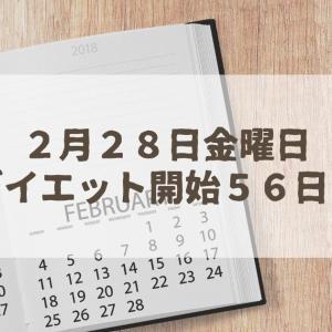 半日断食【ダイエット開始56日目】2月のダイエット結果発表