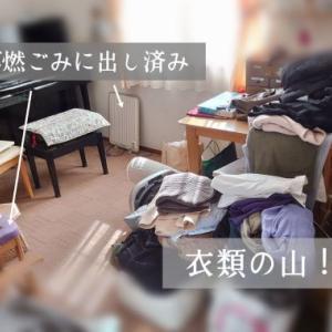 衣類の断捨離その1~処分の方法の確認と流れ