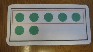 指折り計算の改善に有効なトレーニング(10までの合成と分解)