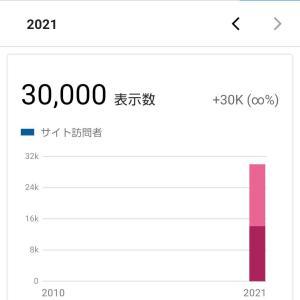 祝!3万PV\(^o^)/