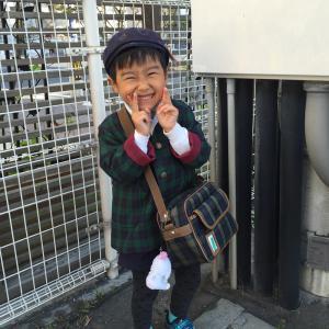 幼稚園へ出発~♪