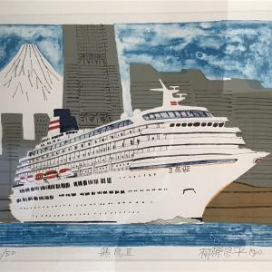柳原良平さんの「船旅の絵本」