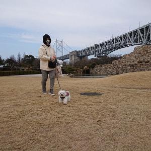 瀬戸大橋記念公園へおでかけ