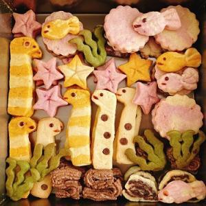 キャラクタークッキー作り訓練始めました。