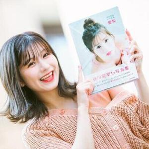元NMB48谷川愛梨「うっすら口を開けた表情は珍しい」初写真集への思い語る<インタビュー>