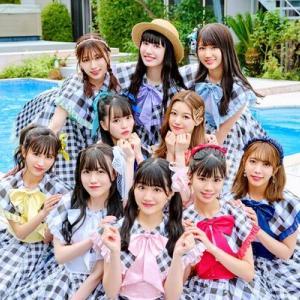 SUPER☆GiRLS第5章の幕開け、プールサイドで踊る「WELCOME☆夏空ピース!!!!!」