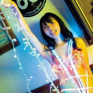 """林田百加、世界初の""""光るハイレグ""""着用で美ボディー披露「シュールだけど、ある意味オシャレかも(笑)」"""
