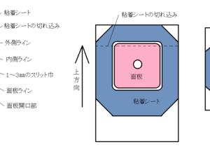 「安心パウチ」を自作する手順(その2) 型紙の設計