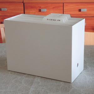 無印良品のファイルボックスとセリアの個別フォルダーを使って書類整理