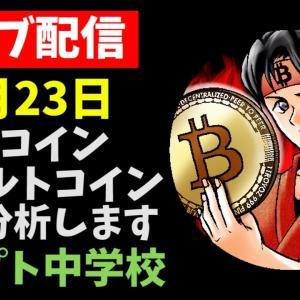 【6/23LIVE配信】ビットコインチャート分析