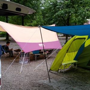 子連れ向けのキャンプ場を求めて…小国町白い森オートキャンプ場。