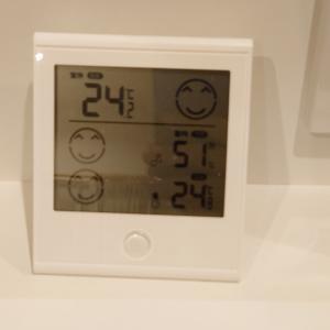 一年前の低性能住宅と比較して温度はどうなったのか!?