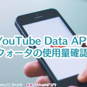 【YouTube Data API】クォータの使用量はどのように確認する?オーバーするとどうなる?読み取りでの使用量は?